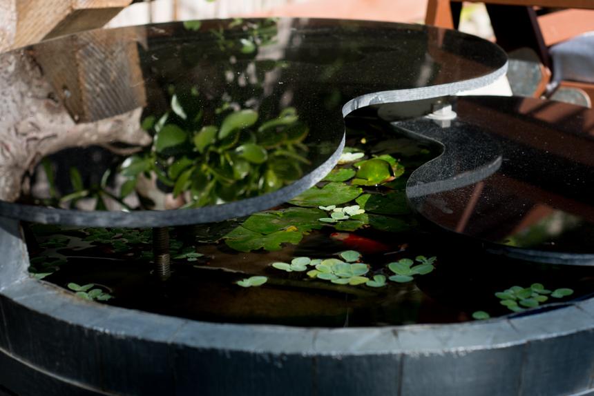 Acrylic Garden Pond Table. Ryan Benoit Design, 2013.