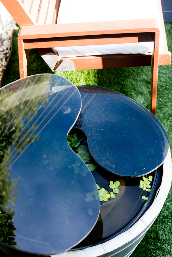 Acrylic Garden Pond Table. Ryan Benoit Design, 2013.