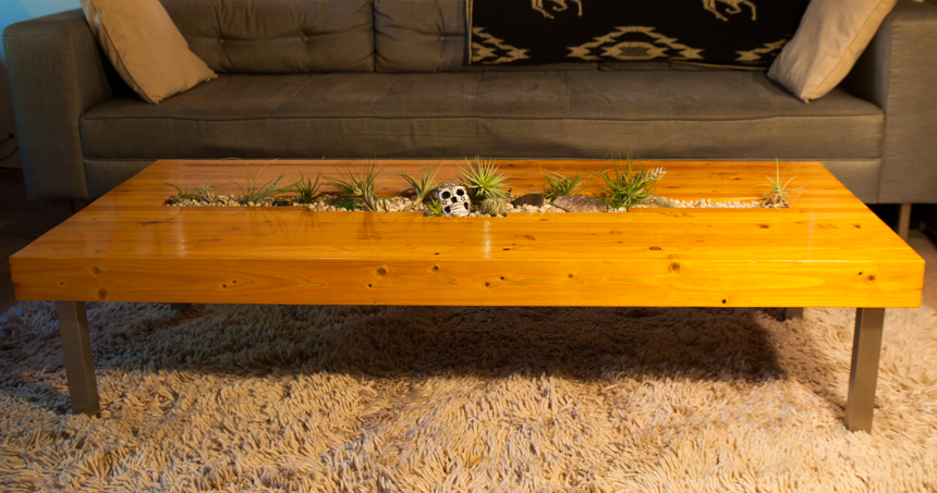 Living Indoor Coffee Table #1. Ryan Benoit Design 2013.