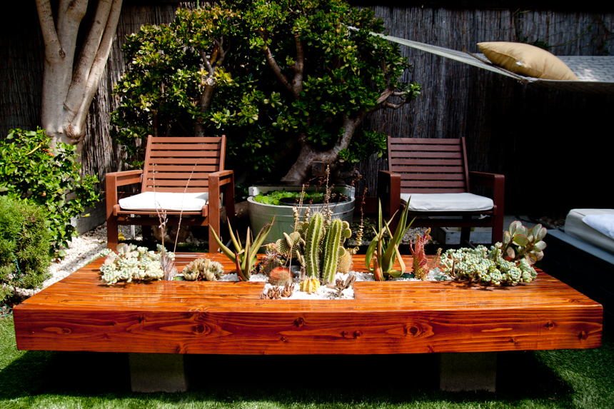 Outdoor Living Coffee Table #1. Ryan Benoit Design, 2013.