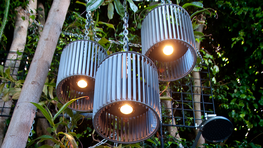 Cage Fan Downlights. Ryan Benoit Design, 2013.