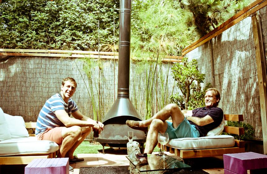 Sectional Fireside Chairs. Ryan Benoit Design, 2013.