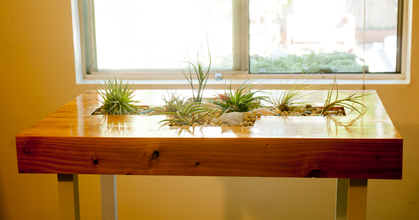 Living Kitchen Islet Table #1. Ryan Benoit Design, 2013.