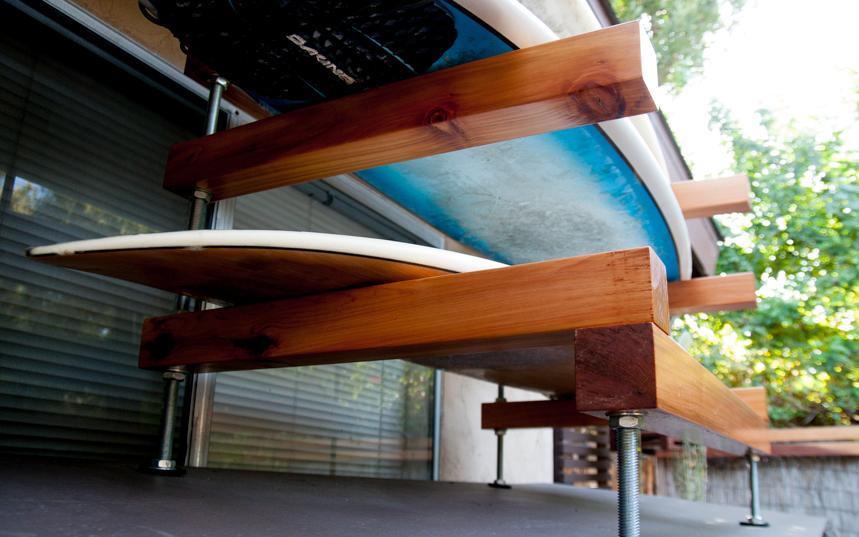 Surfboard Rack. Ryan Benoit Design, 2013.