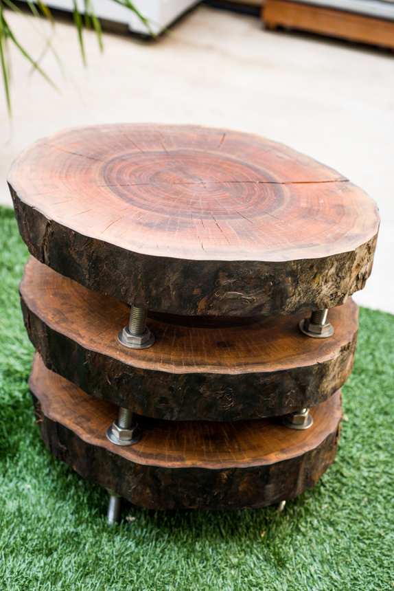 Deconstructed Stump Table. Ryan Benoit Design, 2013.