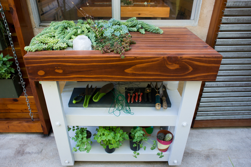 Living Garden Center Table #1. Ryan Benoit Design,  2013.