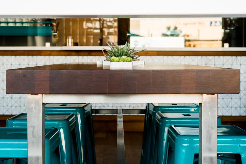 Community Living Table by Ryan Benoit Design